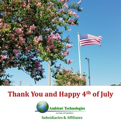 Ambient Technologies and Subsidiaries wishing you an awesome Independence Day Celebration