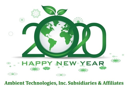 Thank you for making 2019 a great year for Ambient Technologies and Subsidiaries