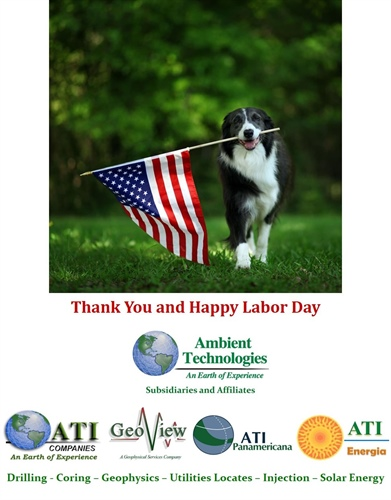 Happy Labor Day from Ambient Technologies and Subsidiaries